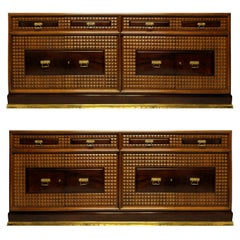 Pair of Monumental Credenza's by Atelier Borsani