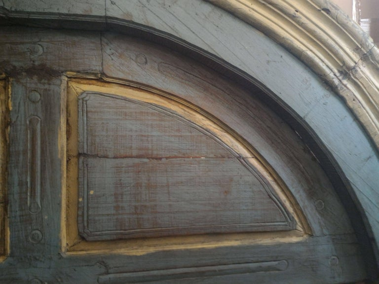 Pair of Monumental Mediterranean Large Size Door In Excellent Condition For Sale In Paris, FR