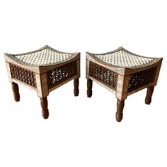 Pair of Moroccan Stools