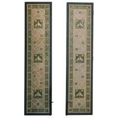 Pair of Mosaic Tile Garden Doors