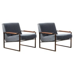 """Pair of """"MP-5"""" Armchair by Percival Lafer, Brazilian Mid-Century Modern"""