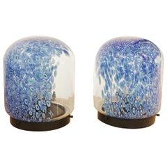 Pair of Murano Glass Lamp by Gae Aulenti for Vistosi
