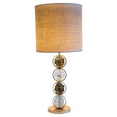 Pair of Murano Glass Lamps by Gianluca Fontana