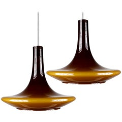 Pair of Murano Glass Pendant Lights, 1960s