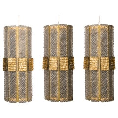 Pair of Murano Glass Sconces by Studio Glustin