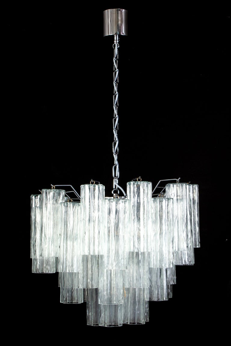 Pair of Murano Glass Tronchi Sconces, 1970s For Sale 10