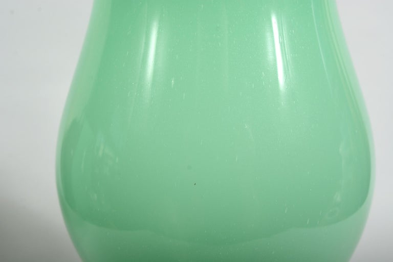 Pair of Murano Glass Urn Shaped Vases For Sale 1