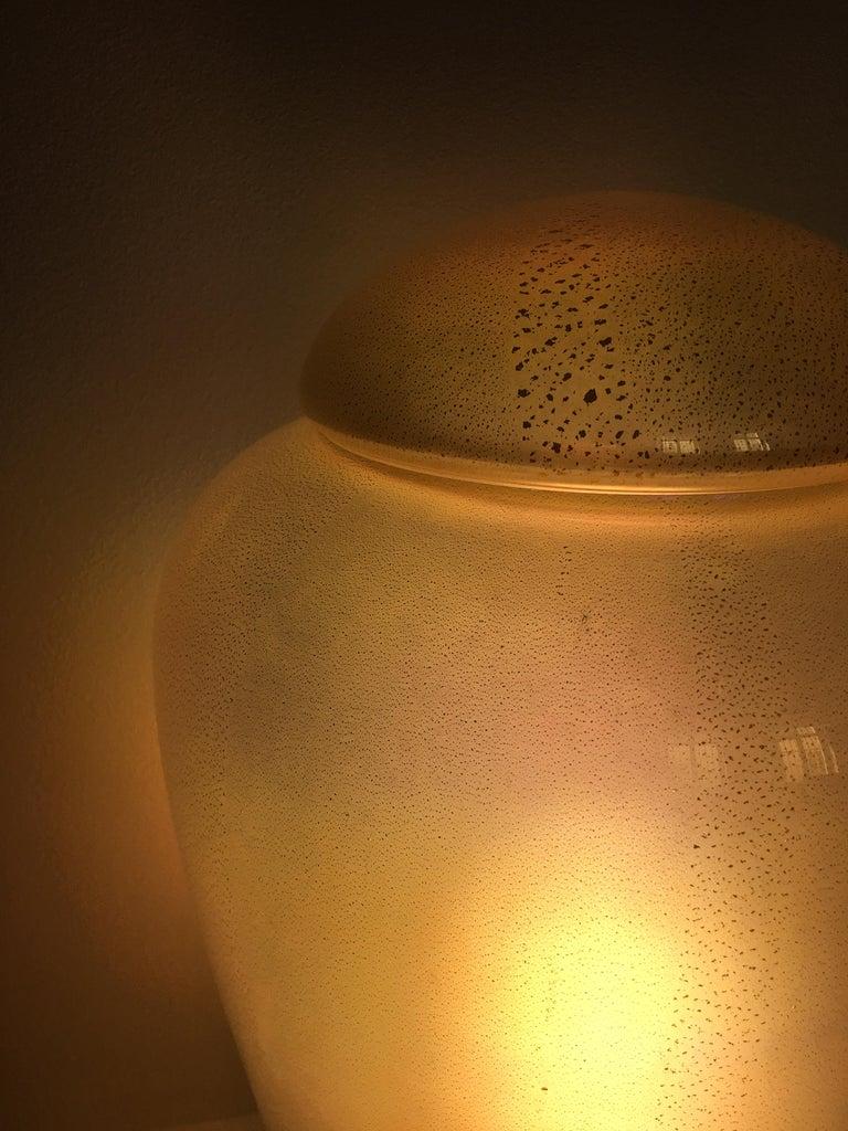 Pair of Murano Lamp Vase Jare