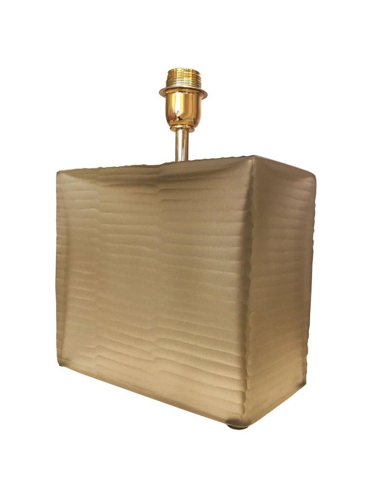 Art Deco Pair of Murano Lamps