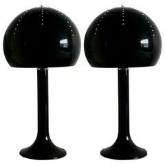 Pair of Mushroom Table Lamps by Fabio Ltd