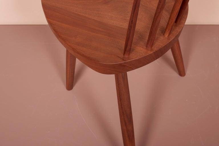 Pair of Nakashima Studio Mira Nakashima Mira Chair in Walnut, US 2021 For Sale 3