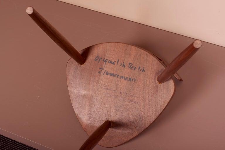 Pair of Nakashima Studio Mira Nakashima Mira Chair in Walnut, US 2021 For Sale 6