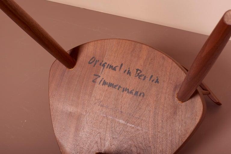 Pair of Nakashima Studio Mira Nakashima Mira Chair in Walnut, US 2021 For Sale 8