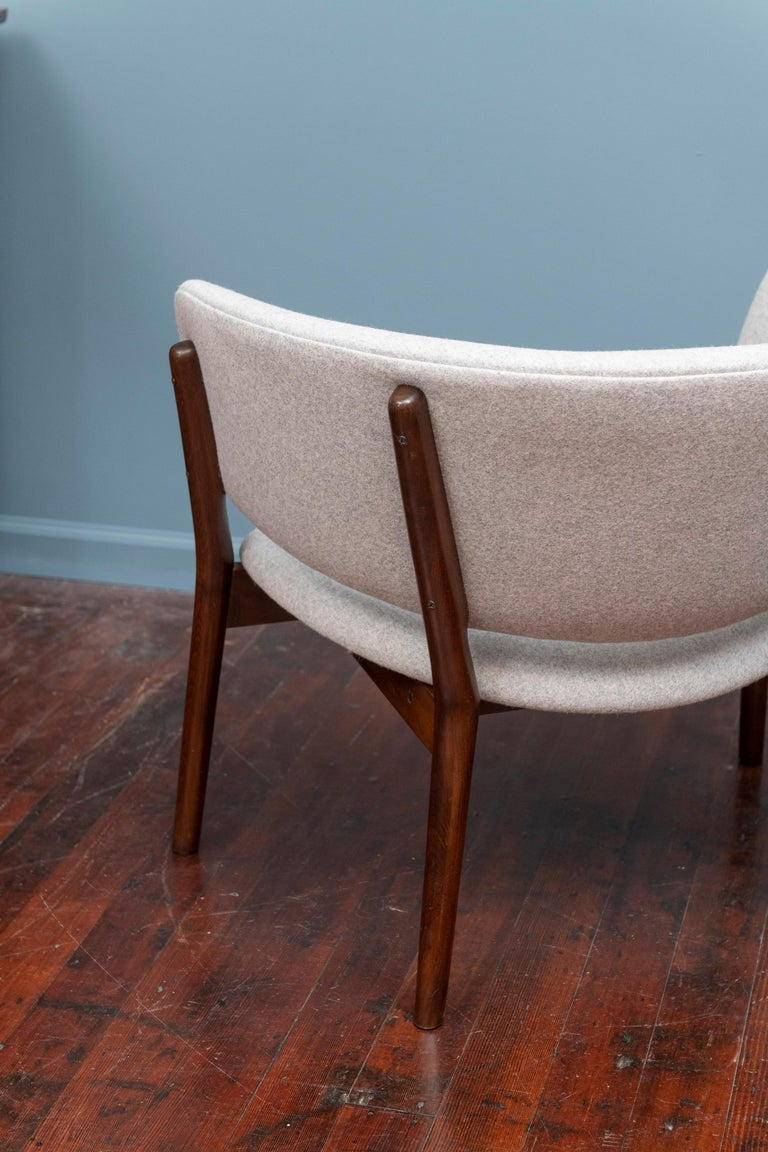 Mid-20th Century Pair of Nanna Ditzel Lounge Chairs