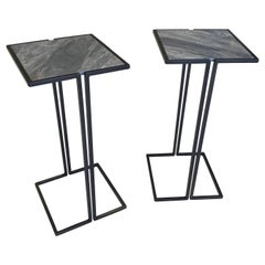 Pair of Nantes Side Tables, Model C