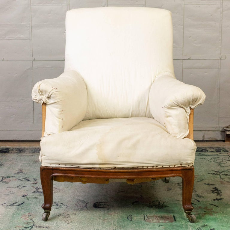 Pair of Napoleon III Armchairs For Sale 5