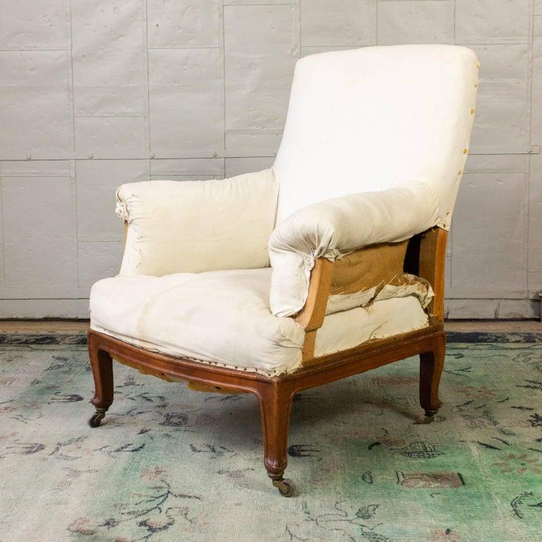 Pair of Napoleon III Armchairs For Sale 7