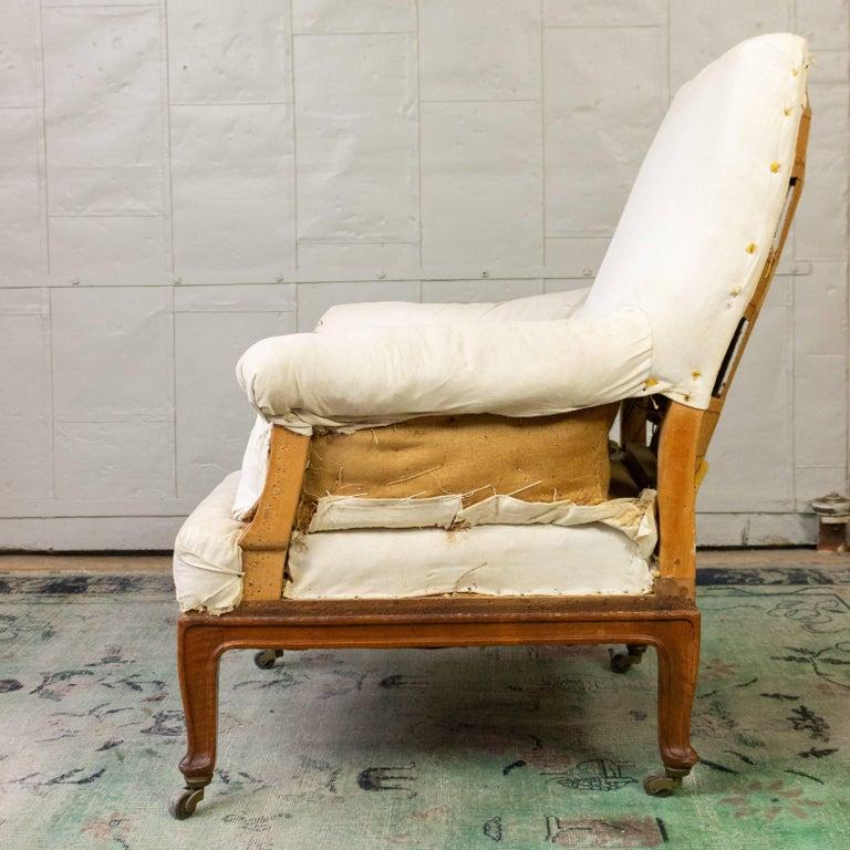 Pair of Napoleon III Armchairs For Sale 8