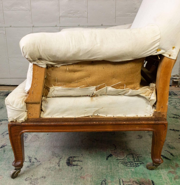 Pair of Napoleon III Armchairs For Sale 9