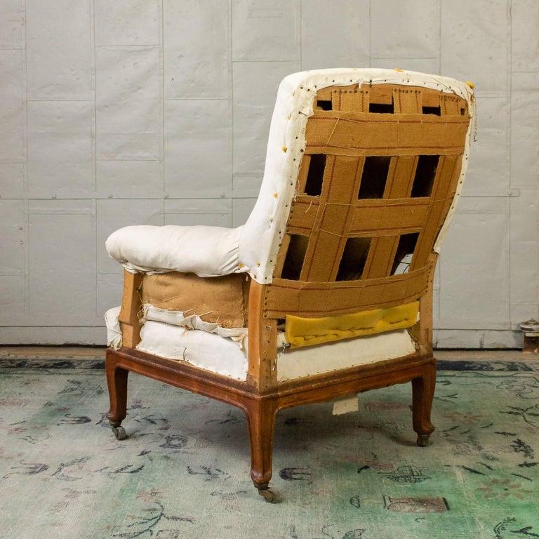 Pair of Napoleon III Armchairs For Sale 10
