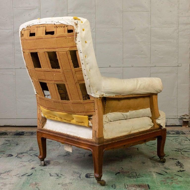 Pair of Napoleon III Armchairs For Sale 12