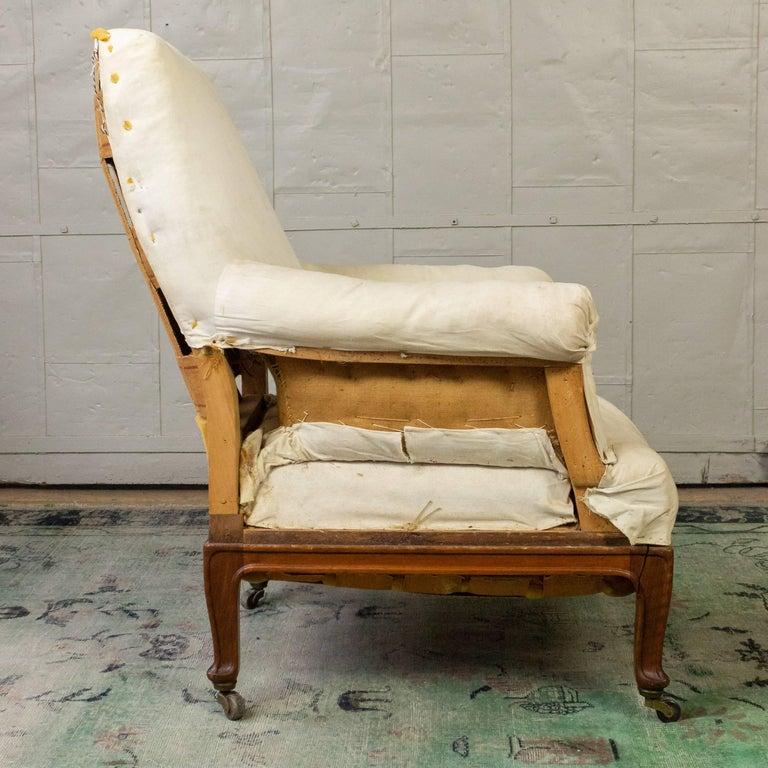 Pair of Napoleon III Armchairs For Sale 13