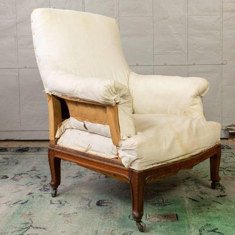 Pair of Napoleon III Armchairs For Sale 14