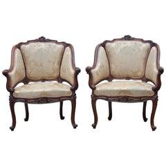 Pair of Napoléon III Period Louis XV Style Marquises