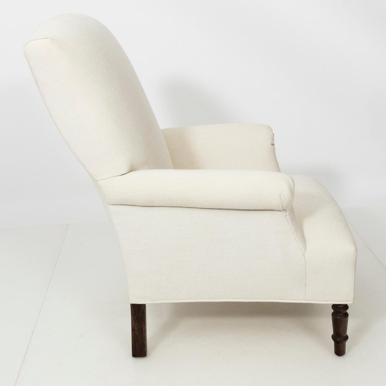 Pair of Napoleon III Style Armchairs For Sale 1