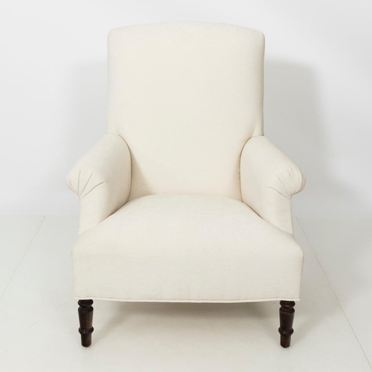 Pair of Napoleon III Style Armchairs For Sale 3