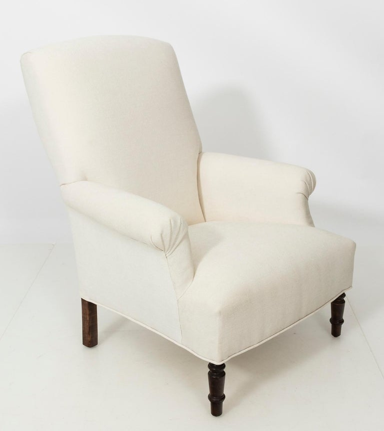 Pair of Napoleon III Style Armchairs For Sale 4