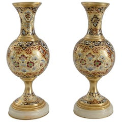 Pair of Napoleon Third Style Vases