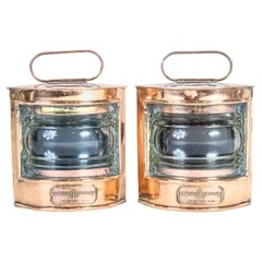 Pair of Nautical Lanterns
