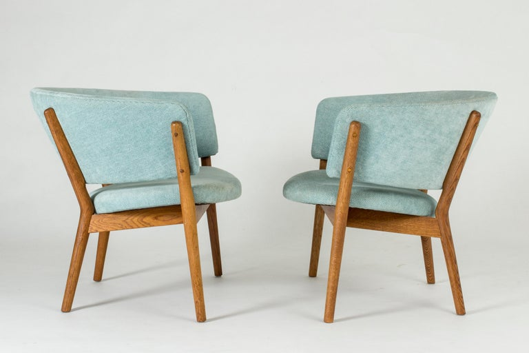 "Scandinavian Modern Pair of ""ND 83"" Lounge Chairs by Nanna Ditzel for Søren Willadsen"