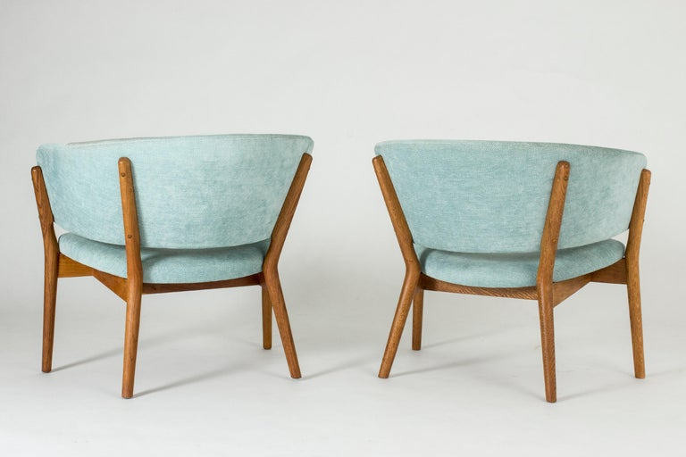 "Danish Pair of ""ND 83"" Lounge Chairs by Nanna Ditzel for Søren Willadsen"