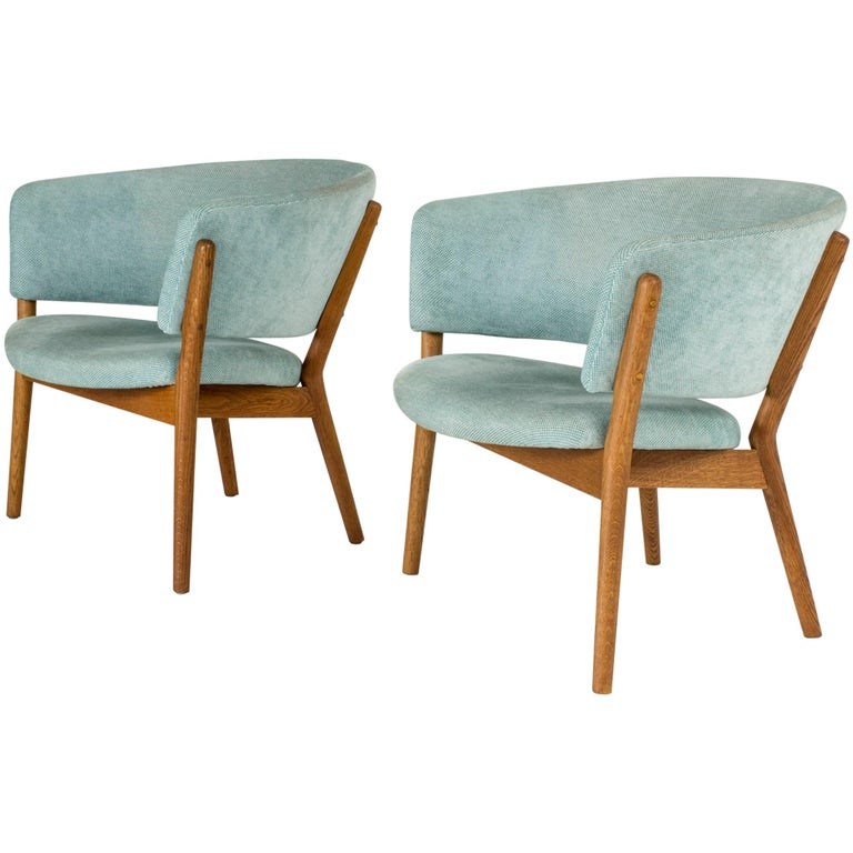 "Pair of ""ND 83"" Lounge Chairs by Nanna Ditzel for Søren Willadsen"