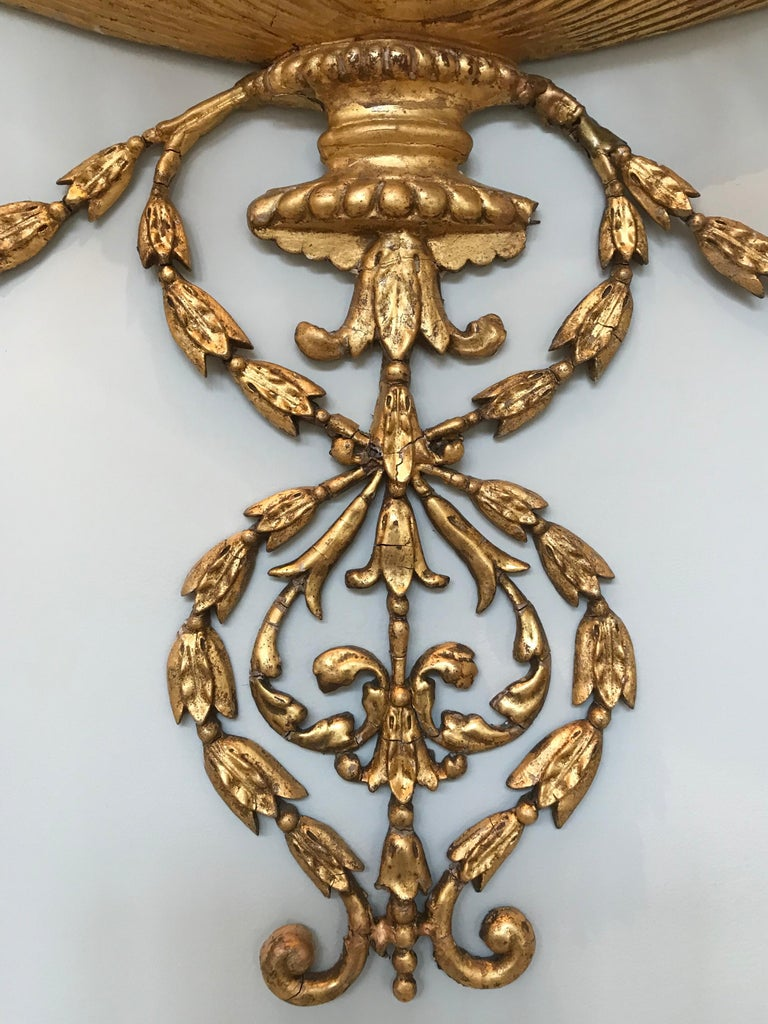 19th Century Pair of Neoclassical Wall Sconces For Sale