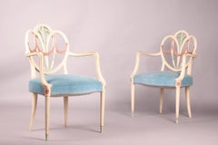 Pair of Neoclassic Armchairs