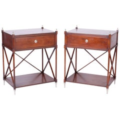 Pair of Neoclassic Stands or Tables