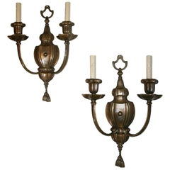 Pair of Neoclassic Style Caldwell Sconces
