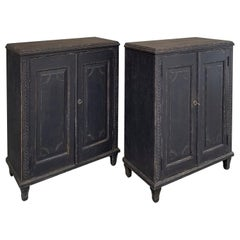 Pair of Neoclassical Cabinets