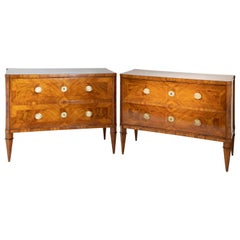 Pair of Neoclassical Chests