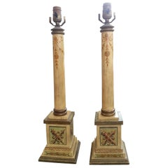 Pair of Neoclassical Lamps