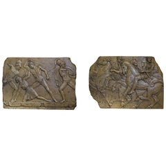 Pair of Neoclassical Plaques