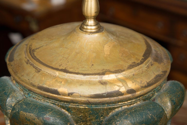 20th Century Pair of Neoclassical Table Lamps For Sale