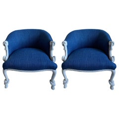Hollywood Regency Armchairs