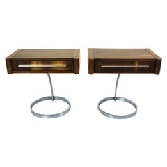 Pair of Nightstands in the Style of Boris Tabacoff
