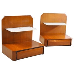 Pair of Nightstands Italian Manufacture Mid-1960s