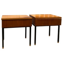 Pair of Nightstands by Alain Richard