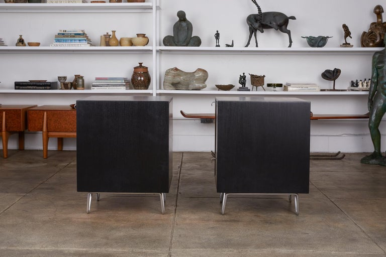 Pair of Nightstands by George Nelson for Herman Miller For Sale 2
